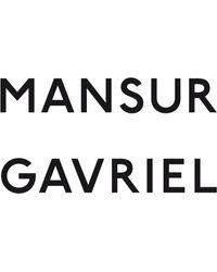 Mansur Gavriel Suede Drawstring - Blue