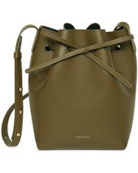 Mansur Gavriel - Calf Mini Bucket Bag - Olive - Lyst