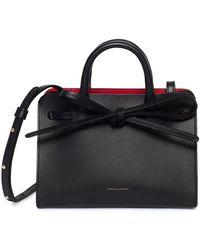 Mansur Gavriel Mini Mini Sun Bag - Black