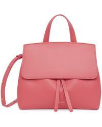 Mansur Gavriel Calf Mini Mini Lady Bag - Dolly - Pink