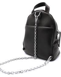 Maison Margiela Glam Slam Backpack In Black