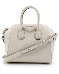 Givenchy - Mini Antigona Bag In Grained Leather - Lyst