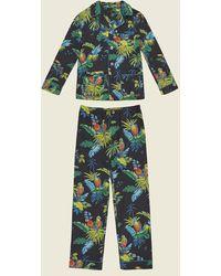 Marc Jacobs Parrot Cotton Pajama Set - Multicolor