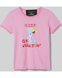 Marc Jacobs Magda Archer X The Collaboration T-shirt - Pink