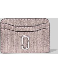 Marc Jacobs - The Snapshot Glitter Card Case - Lyst