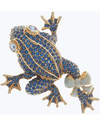 Marc Jacobs - Pave Frog Brooch - Lyst