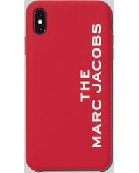 Marc Jacobs The Silicone Iphone Xs Max Case - Red