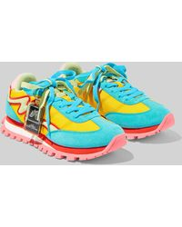 Marc Jacobs The Jogger Sneakers - Blue