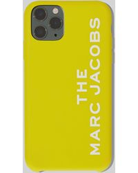 Marc Jacobs The Silicone Iphone 11 Pro Case - Yellow