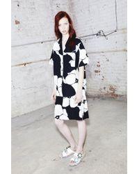 Marc Jacobs | Flower Print Skirt | Lyst
