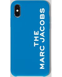 Marc Jacobs Women's The Silicone Iphone X/xs Case In Blue