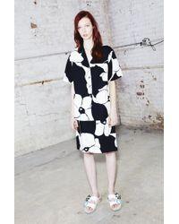 Marc Jacobs - Flower Print Shirt - Lyst