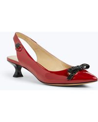 Marc Jacobs - Abbey Slingback Pump - Lyst