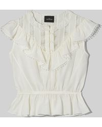 Marc Jacobs The Victorian Top - White
