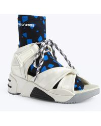 Marc Jacobs - Somewhere Sport Sandal With Sock - Lyst