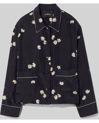 Marc Jacobs The Pajama Top - Black