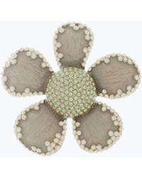 Marc Jacobs - Pave Petal Daisy Brooch - Lyst