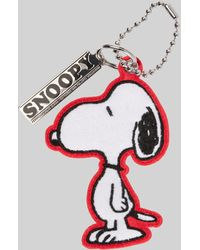 Marc Jacobs Peanuts® X The Chenille Snoopy Charm - White
