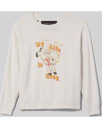 Marc Jacobs Magda Archer Collaboration Sweatshirt - White