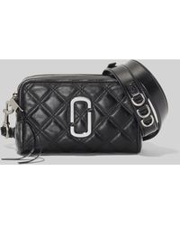Marc Jacobs The Quilted Softshot 21 Cross Body Bag - Black