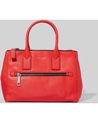 Marc Jacobs Gotham East-west Tote Bag - Red