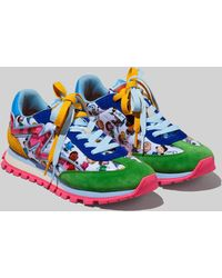 Marc Jacobs Peanuts X The Comics Jogger Sneakers - White