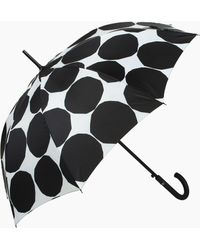 Marimekko Kivet Stick Umbrella - Black