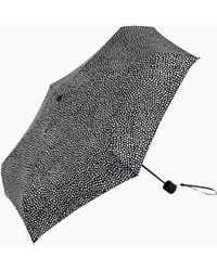 Marimekko Pirput Parput Mini Manual Umbrella - Black