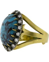 Sylva & Cie - Oval Turquoise Ring - Lyst