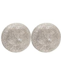 Carolina Bucci Medium Sparkly Ball Earrings - Multicolour