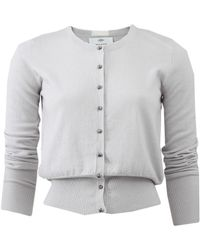 Allude - Crystal Button Cardigan - Lyst