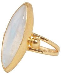 Gurhan Rune Moonstone Ring - Multicolour