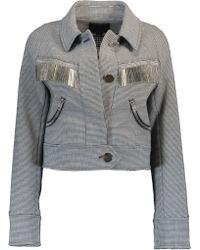 Alexander Wang - Cropped Jacket - Lyst