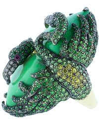 Wendy Yue | Green Turquoise Ring | Lyst