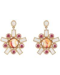 Larkspur & Hawk - Cora Fancy Hand Painted Earrings - Lyst