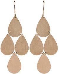 Irene Neuwirth Four-drop Chandelier Earrings - Multicolour
