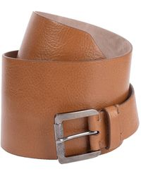 Brunello Cucinelli Glossy Calf Corset Belt - Brown