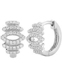 Dana Rebecca - Lori Page Diamond Huggie Earrings - Lyst