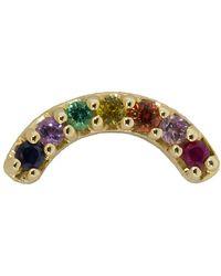 Andrea Fohrman - Single Multi-sapphire Rainbow Stud - Lyst