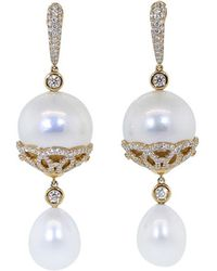Inbar - Pearl Drop Earrings - Lyst