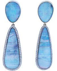 Katherine Jetter - Crystal Opal Earrings - Lyst