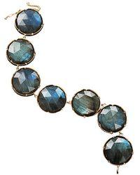 Irene Neuwirth Rose Cut Labradorite Bracelet - Blue