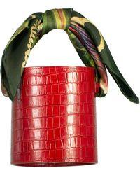 Montunas Isla Bucket Bag - Red
