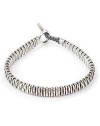 M. Cohen The Zig Bracelet - Metallic