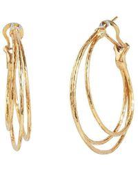 Gurhan Gold Hoopla Earrings - Metallic