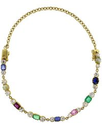 Sylva & Cie   Vintage Bracelet & Choker Necklace   Lyst