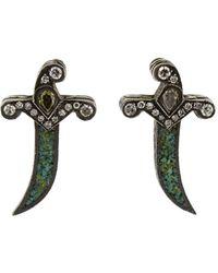 Sevan Biçakci - Dagger Stud Earrings - Lyst