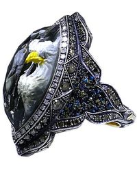 Sevan Biçakci - Carved Eagle Diamond Ring - Lyst