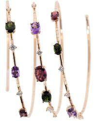 Mattia Cielo Rugiada Three Circle Rainbow Bracelet - Multicolor