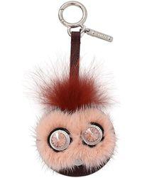 Fendi - Bug Mirror Keychain - Lyst